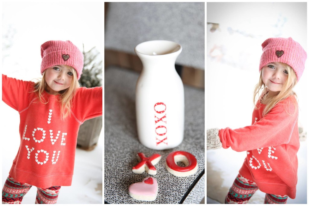 Sweet Valentine Cookie Jars by Rosie Cakes www.rosiecaeksdnver.com Kids clothing found at www.littlemes.com